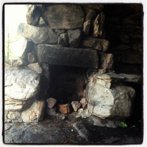 Lean-to fireplace, Harriman State Park