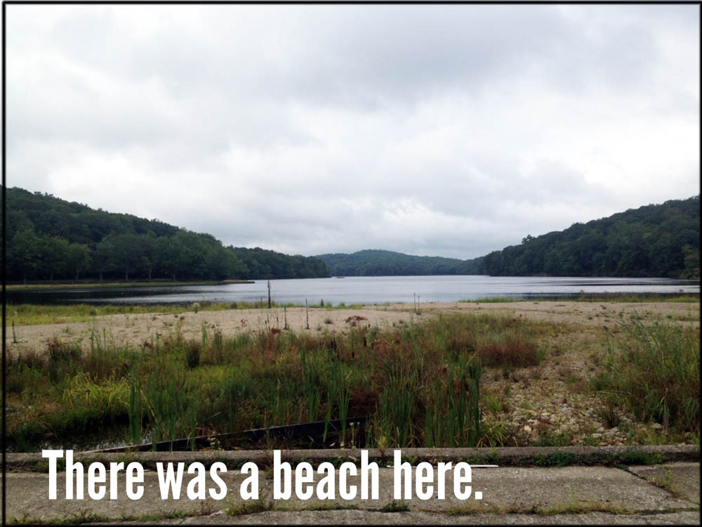Lake Sebago Beach, in Harriman State Park