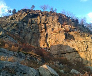 Climbing Harriman State Park: The colorful, challenging face of Powerlinez, in the Torne Valley area of Harriman State Park, is now open to technical climbers.