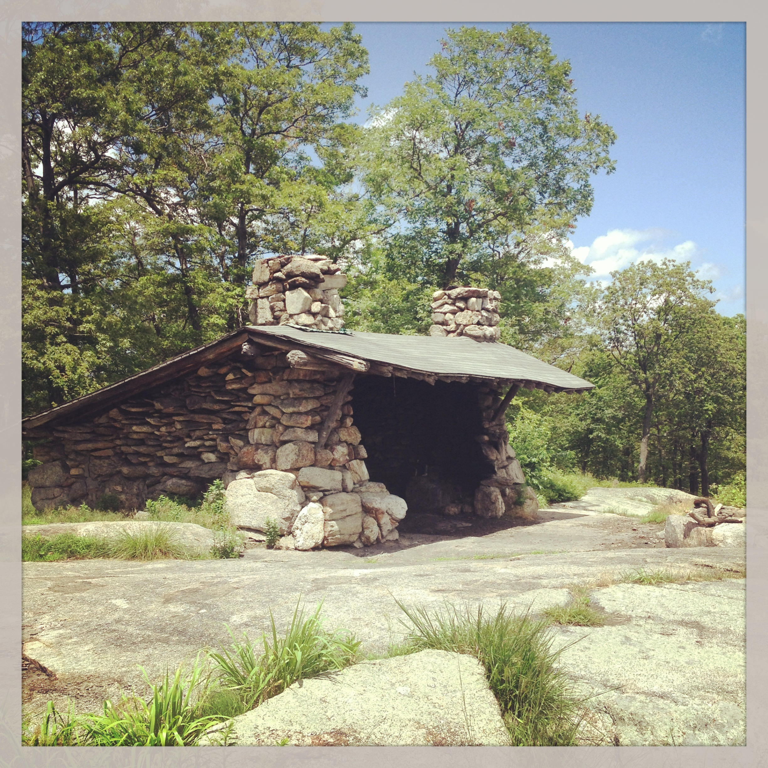Tom Jones Shelter leanto, Harriman State Park