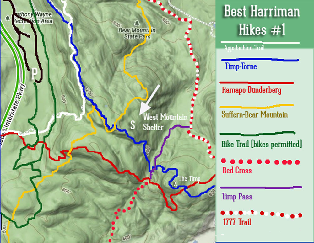 Best Hikes in Harriman State Park 1 The Timp and West Mountain