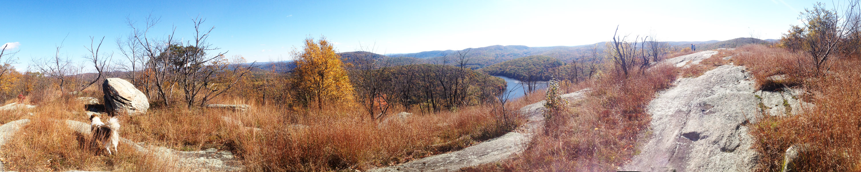 Hike to the top of Long Mountain, via the Long Path, in Harriman State Park New York.