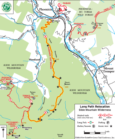 Hiking the Newest Section of the Long Path in the Catskills - | My ...