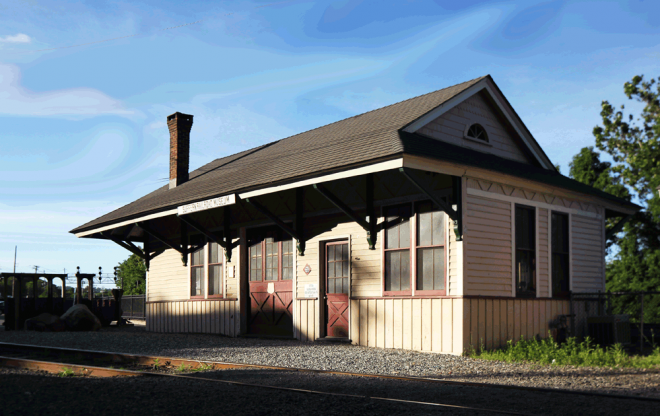 "The Suffern Railroad Museum, in parking lot ""A"", at the corner of Orange and Wayne Ave. It's open to the public on Saturday, from 9am to 1pm, May to October, except holiday weekends (coinciding with the Farmers Market hours)."
